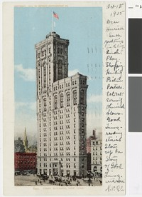The Times Building, New York, New York, 1903-1905