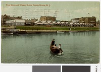 Tent City and Wesley Lake, Ocean Grove, New Jersey, 1907-1911