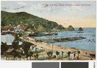 Avalon and Bay, Santa Catalina Island, California, 1907-1914