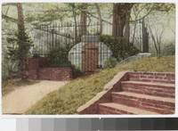 Washington's original tomb, Mt. Vernon, Virginia, 1907-1914