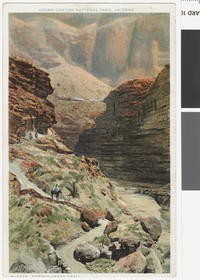 Hermit Creek Trail, Grand Canyon National Park, Arizona, 1907-1914