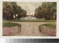 Bowling green entrance, Mount Vernon, Virginia, 1926
