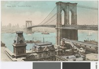 Brooklyn Bridge, New York, New York, 1901-1907