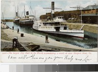 Largest dry dock in the world, Newport News, Virginia, 1901-1906