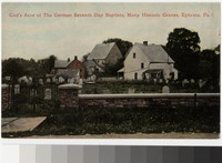 German Seventh Day Baptists' Graveyard, Ephrata, Pennsylvania, 1907-1914