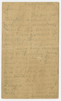 To Eliza [Farquhar] -- From [Unknown Sender]