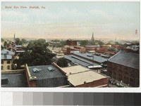 Bird's eye view, Norfolk, Virginia, 1907-1914