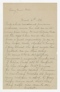 To Edith F. Brooke Green -- From [Unknown Senders]