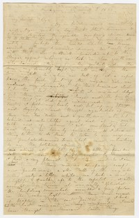 To Sarah Brooke Farquhar -- From Lizzy Briggs with Mary M. Brooke
