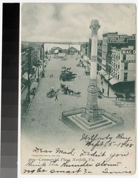 Commercial Place, Norfolk, Virginia, 1901-1905