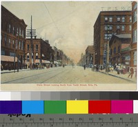 State Street looking north, Erie, Pennsylvania, 1907-1915