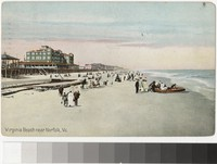Virginia Beach near Norfolk, Virginia, 1907-1914