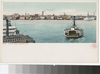 Water Front, Norfolk, Virginia, 1907-1914