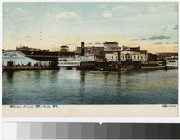 Water Front, Norfolk, Virginia, 1907-1908