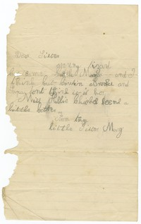 To Edith F. Brooke Green -- From Mary B. Brooke