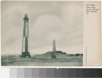 Cape Henry Light Houses, Old and New, Norfolk, Virginia, 1901-1907