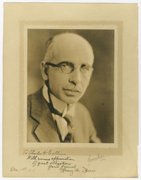 Charles Wallace Collins -- Portrait, December 1, 1924