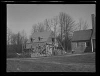 Piscataway House and garage construction, April 1946