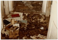 Harmony Hall -- interior of two rooms and one of outbuildings, January 11, 1985