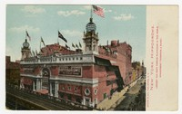 Postcard of New York Hippodrome, undated, undated