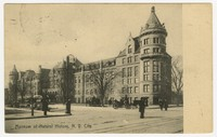 Postcard of the Museum of Natural History in New York City, 1908