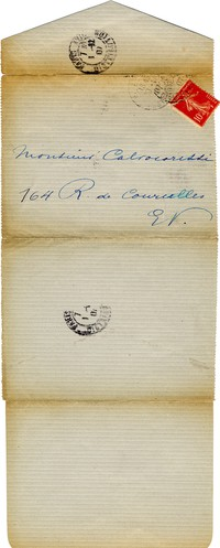 Letter from Jane Bathori to Michel-Dmitri Calvocoressi, November 30, 1907