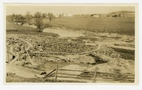 Showing location of disposal plant under construction, Emmitsburg, MD, July 16, 1936
