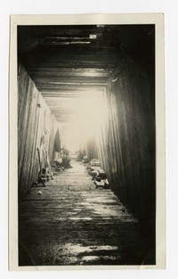 Storm water drain, Baltimore, MD, January 14, 1936