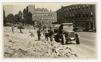 Landscaping the viaduct, Baltimore, MD, October 9, 1935