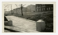Grading and planting complete at Preston Gardens, Baltimore City, MD, January 13, 1936