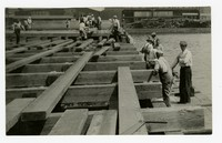 Construction on Pier #8, Baltimore, MD, May 5, 1936