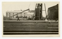 Rebuilding Pier 8, Baltimore, MD, May 28, 1936