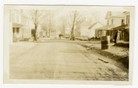 Chipping and oiling streets, Snow Hill, Worcester, MD, January 8, 1936
