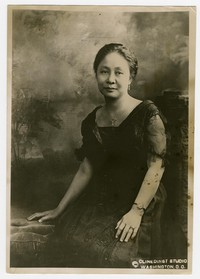 Press release photo of Madame Sofia de Veyra [Photograph, Black and White] [Digital Only]