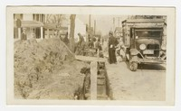 Storm water drains, Hurlock, MD, March 2, 1936