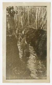 Drainage Ditches, Pole cat ditch, Wango, MD, December 9, 1935