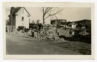 Construction, firehouse Demolition, Snow Hill, MD, December 9, 1935