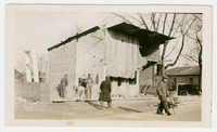 Construction of firehouse, Snow Hill, MD, January 8, 1936