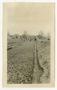 Alteration & addition to schools- ground improvement, Denton, MD, January 14, 1936
