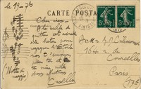 Letter from Alfredo Casella to Michel-Dmitri Calvocoressi, September 19, 1903