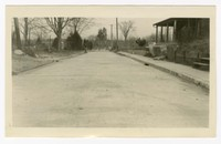 Construction of concrete pavement, curb and gutter, Easton, MD, January 4, 1936