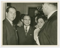 President Diosdado Macapagal's Visit to D.C. [Photograph, Black and White] [Notebook 2]