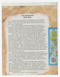 Report on Journey to the Philippines with Mom (Juliana O. Panganiban) [Document] [Notebook 2]