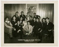 Photograph of large group at the Commemoration Dance of Doctor Jose Rizal [Photograph, Black and White] [Digital Only]