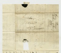 Hubert Kelly Waldron letters, January 4, 1832-June 13, 1832