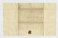 Hubert Kelly Waldron letters, July 6, 1832-July 27, 1832