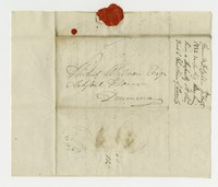 Hubert Kelly Waldron letters, August 10, 1832-August 28,1832