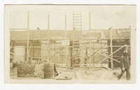 Construction of Mardela Community House, Mardela Springs, Maryland, March 2, 1936
