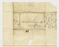 Hubert Kelly Waldron letters, September 10, 1832-December 22,1832