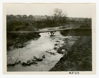 Sulphur Spring drainage ditch, Sulpher Springs, Maryland, March 12, 1935